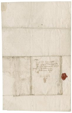 Letter from Thomas Smith to Roger Townshend, 1st bart.