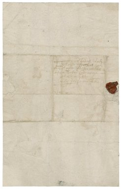 Letter from William Sparrow to Tim Felton