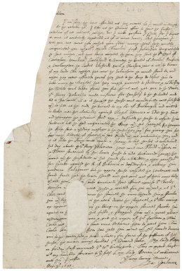 Letter from Sir John Spelman to [Lady Anne (Bacon) Townshend?]