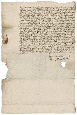 Letter from Henry Spendlove to Martin Man
