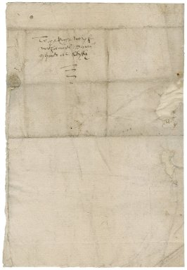 Letter from Richard Spratt to Nathaniel Bacon