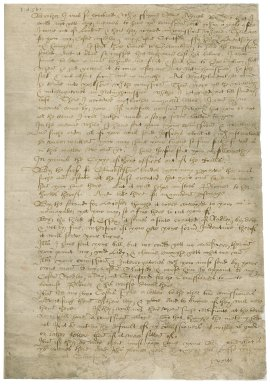 Letter from Sir Edward Stanhope to Roger Townshend (1543?-1590)
