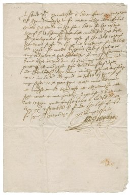Letter from Michael Stanhope to Richard Mason