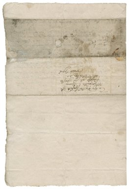 Letter from Steward, Augustine to Nathaniel Bacon