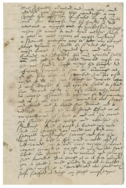 Letter from Walter Strickland to Sir Edward Bacon