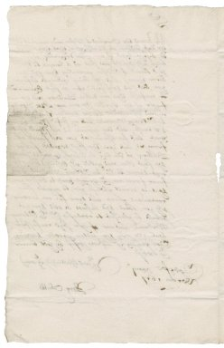 Letter from Richard Stubbe to Nathaniel Bacon