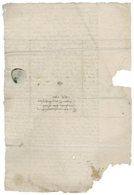 Letter from Thomas Steward [i.e. Styward] to Roger Townshend [(1543?-1590)?]