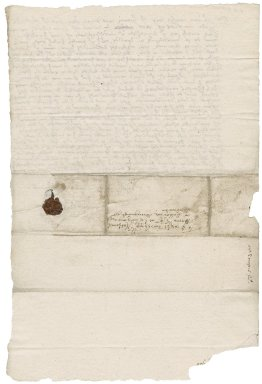 Letter from Laurence Thomson [i.e. Tomson] to Nathaniel Bacon