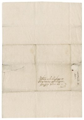 Letter from John Trenche to Nathaniel Bacon