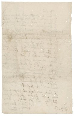 """Letter from E. Turnor to """"My Lord"""""""