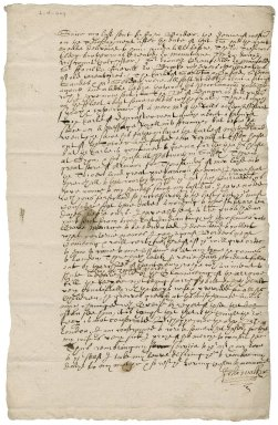 Letter from John Walker to his cousin