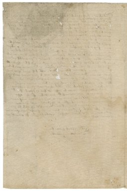 Letter from William Walker to Sir Roger Townshend [(1543?-1590)?]