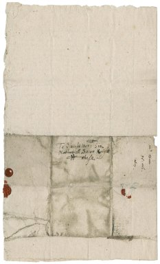 Letter from Robert Wall to Nathaniel Bacon