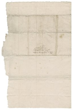Letter from Anne (Bacon) Woodhouse to Nathaniel Bacon