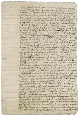 Letter from Sir Francis Wyndham to Nathaniel Bacon