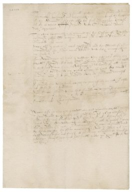 Rookwood's note about two offices for Nathaniel Bacon
