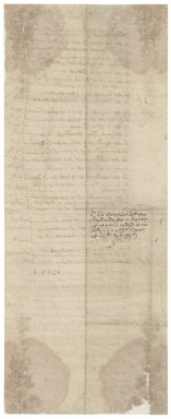 Bill from a smith to Nathaniel Bacon
