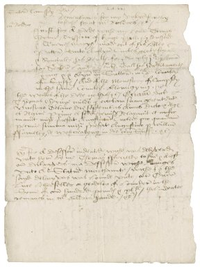 Memoranda of writings of Nathaniel Bacon's found in Sir Nicholas's (lord keeper) study