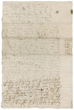 Examination of John Sheringham and Thomas Rawson, Constables of Hokham: draft