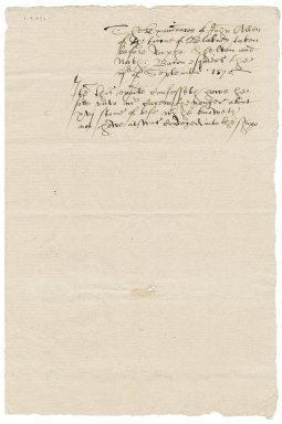 Deposition of John Allen in the Hubbard piracy case overseen by Nathaniel Bacon and Ralph Shelton