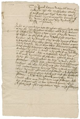 Agreement to sell Eccles between Nathaniel Bacon and Bassingborne Gawdy