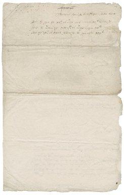 Receipts for building from John Osborne