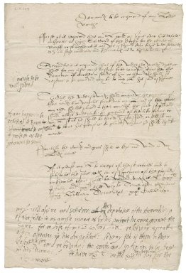 Articles concerning the understewardship of the Duchy of Lancaster in Norfolk