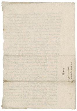 Memoranda of Nathaniel Bacon concerning Thomas Cullyer, plaintiff v. Richard Cullyer, et. al., defendants