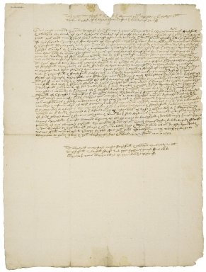Petition from the Commons of Norfolk to Nathaniel Bacon and Edward Coke