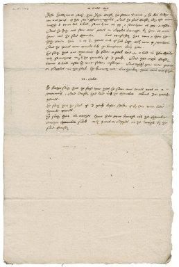 Testimony before Nathaniel Bacon of John Hallyment, servant