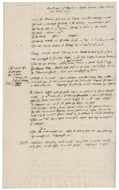 Martin Man's notes on Elizabeth and Richard (?) Newton