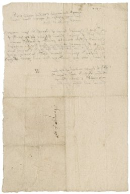 Receipt from Thomas Braye to Sir Nicholas Bacon, lord keeper