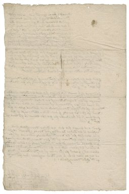 Articles of agreement between Lady Anne (Bacon) Townshend and Lady Jane (Stanhope) Townshend