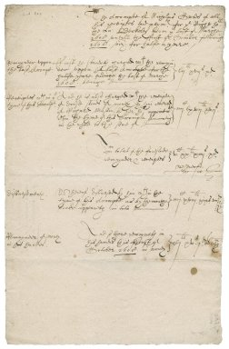 Accounts of Nicholas Owles to Lady Jane Berkeley