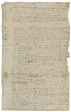 Notes from Sir Roger Townshend to Sir Roger Townshend, 1st bart., on the case of Clarke v. Clarke