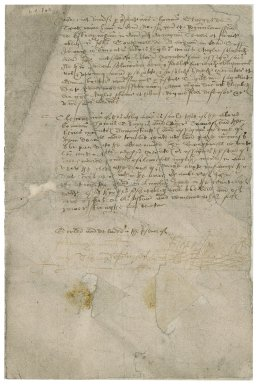 Bond of Sir Roger Townshend (1543?-1590) : cancelled