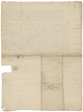 Bond from Sir Edward Stanhope to Sir Roger Townshend (1543?-1590)