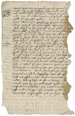 Agreement of Sir Roger Townshend (1543?-1590) with William Cobbe and Francis Munforth