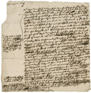 Note of litigation between Sir Roger Townshend, 1st bart., and Thomas Goddard