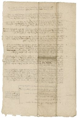 Absract of the petition of Edward Downs' creditors to the commissioners of [Norfolk?]