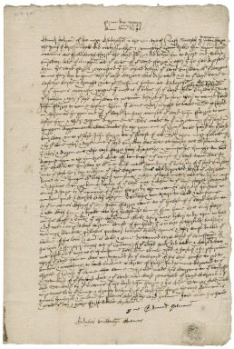 Deposition of Edmund Halman against John Ferrour