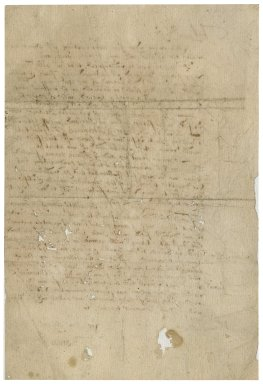 Letter from Thomas Whalley to [Sir Roger Townshend]