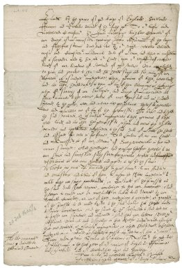 Warrant from James I, King of England, to Sir John Fortescue, chancellor of the Duchy of Lancaster: copy