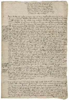 Account of the disagreement between Thomas Cooper and Robert Markham the younger; and Gervase Markham challenging Mr. Cooper and Nicholas Sutton to duel