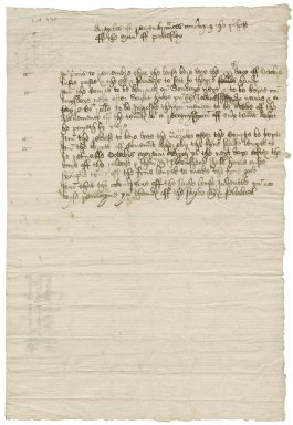 Articles concerning purchase of the manor, Pattesley, Norfolk
