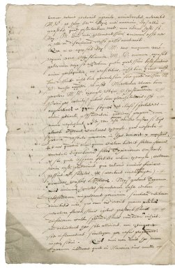 Letter from unkown correspondent to Sigismund II, King of Poland : copy