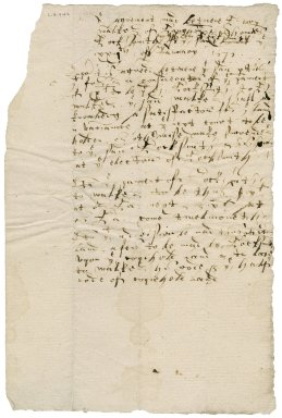 Agreement between Henry Walker and Thomas and Stephen Locksmith