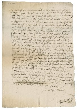 Letter from John Audley to Nathaniel Bacon
