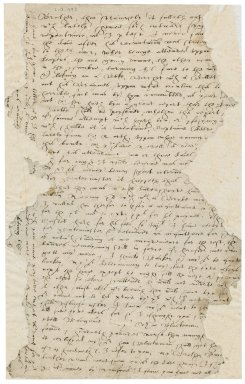 Letter from Edward Bacon to Nathaniel Bacon