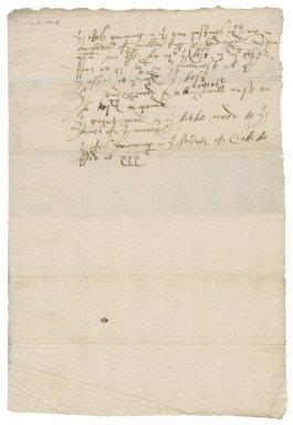 Memorandum of Nathaniel Bacon regarding trees at Fulmodeston